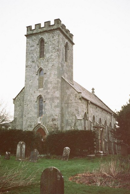 Cann: former parish church of St. Rumbold
