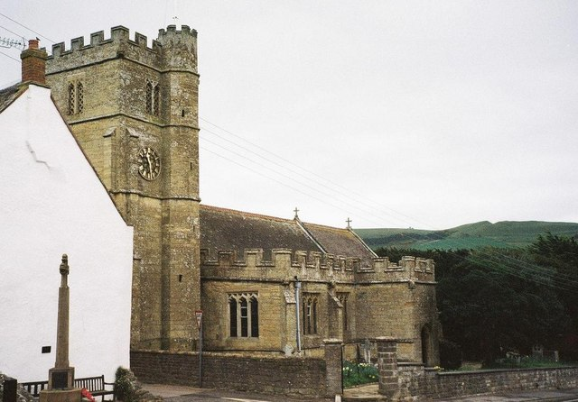 Chideock: parish church of St. Giles
