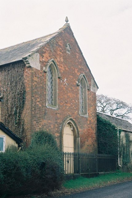 Woodcutts: former chapel