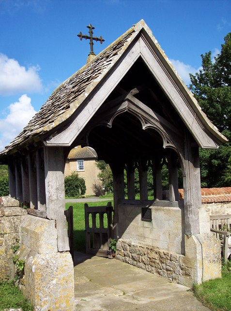 St Mary Magdalene, South Marston - Lych Gate