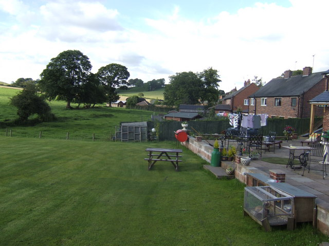 View from the Salutation Inn