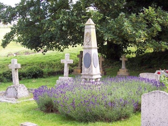 Grave of James Bond's Creator