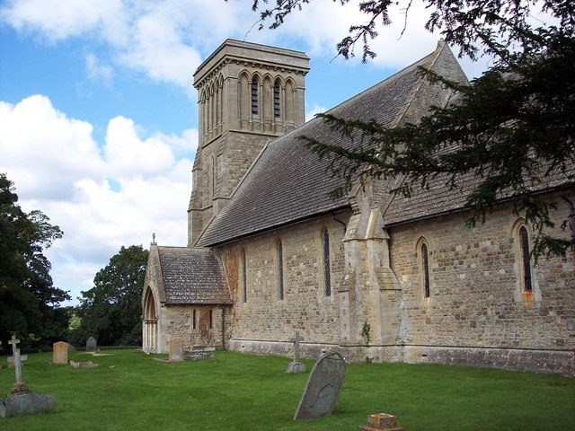 The Church of St James, Sevenhampton