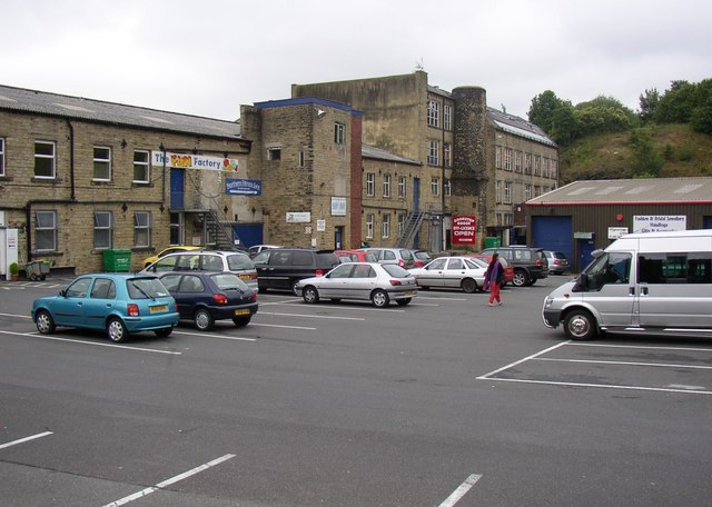 Former mills, Hoyle House Road, Linthwaite