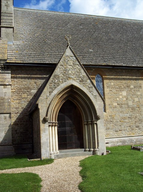 The Church of St James, Sevenhampton - Porch