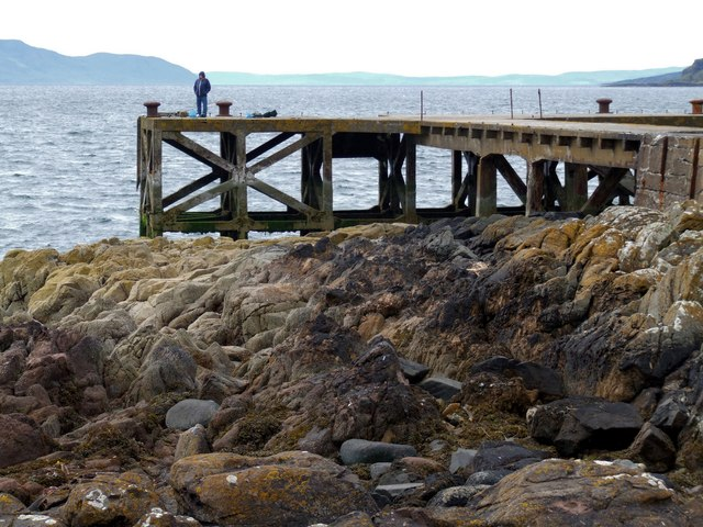 Pier at Portencross