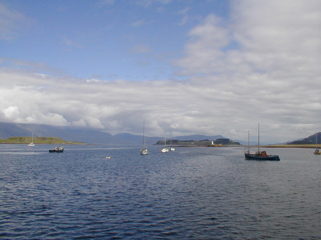 View from Port Appin