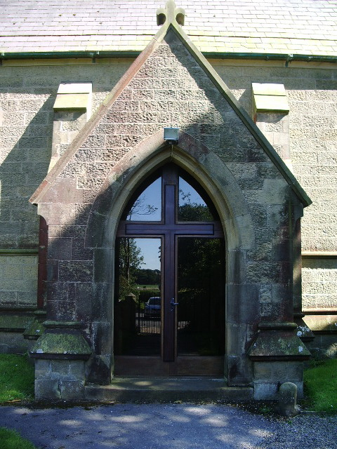 Porch, Christ Church, Treales, The Parish Church of Treales, Roseacre and Wharles