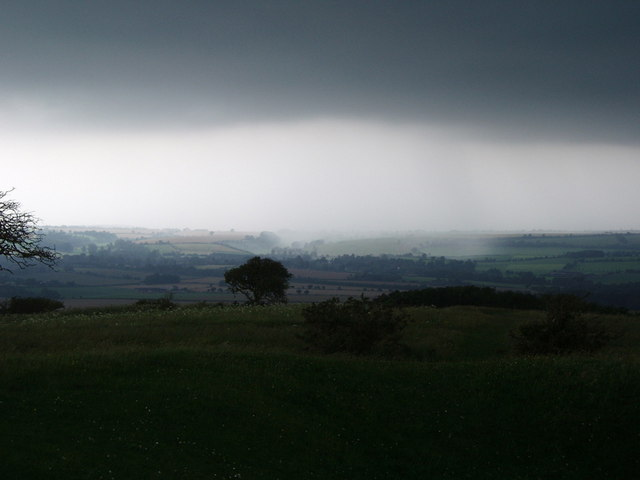 Thunderstorm from Old Winchester Hill