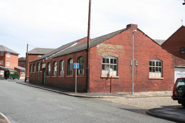 Former billiard hall, Wellfield Street, Rochdale, Lancashire