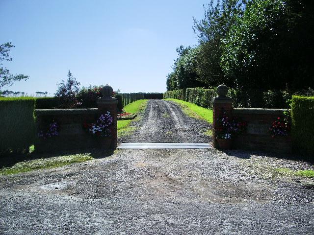 Entrance to Meadowside Barn