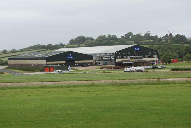 Britten Norman aircraft factory