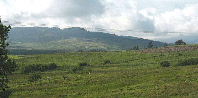View west across former Artillery range land