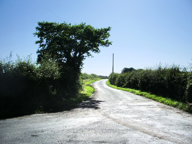 The road to Stanley Grange