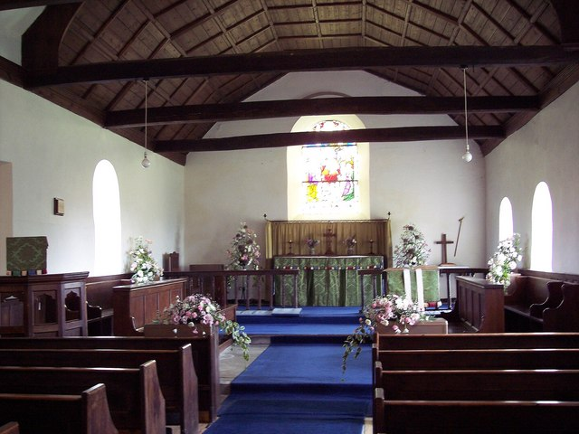 St Michael's and All Angels Church, Great Edstone - Interior