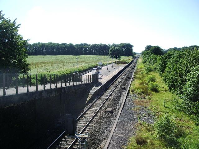 Salwick Railway Station