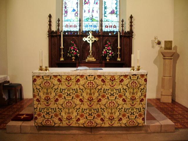 Altar, St John the Evangelist, Lund