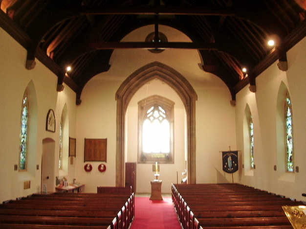 Interior of St John the Evangelist, Lund