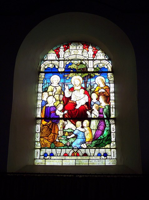 St Michael's and All Angels Church - Stained Glass Window