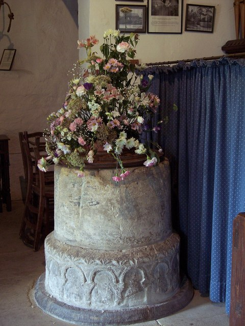 St Michael's and All Angels Church - Font