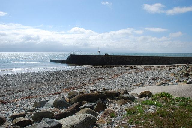 Traeth Criccieth Beach