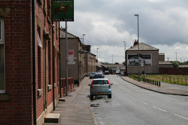 Well i' th' Lane, Rochdale, looking south