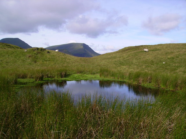Tarn above High Crags