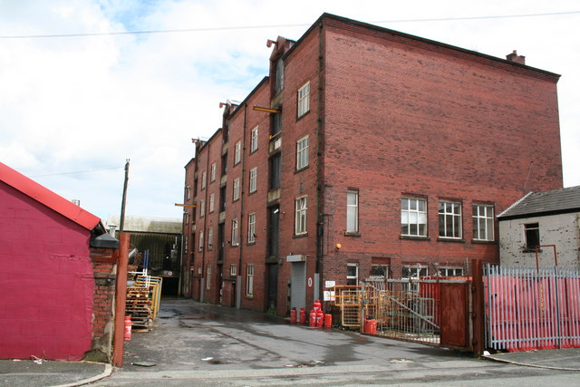 Baron's cotton waste warehouse, Summer Street, Rochdale, Lancashire
