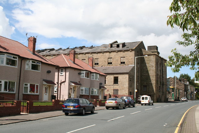 Holmes Mill, Burnley Road, Bacup, Lancashire