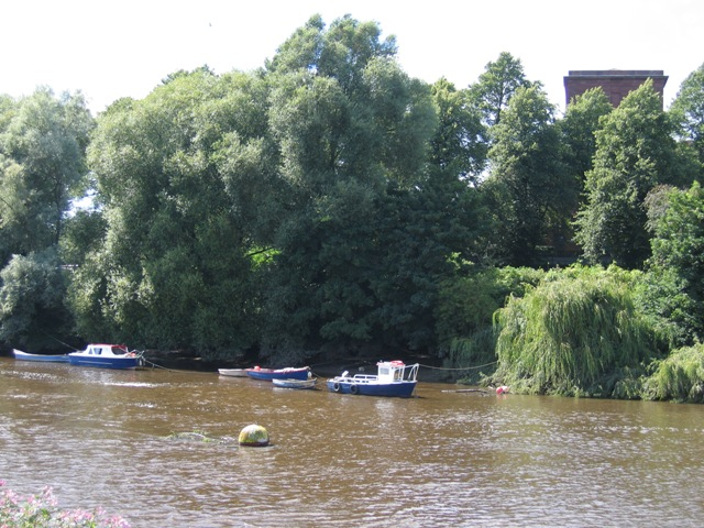 Fishing Boats on the River Dee