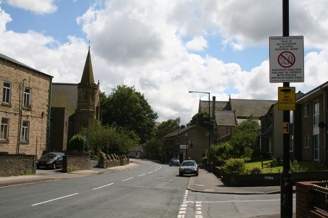Burnley Road, Bacup, Lancashire