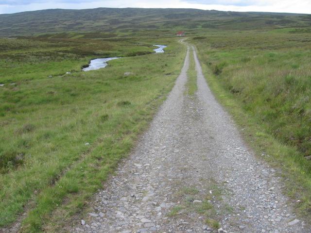 Allt Con and Loch Con track
