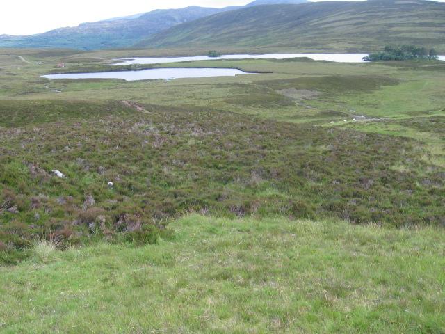 Loch Cruin and Loch Con