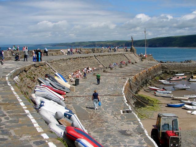 The Pier at New Quay (Ceinewydd)