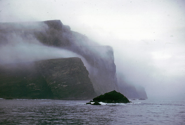 The cliffs of Foula