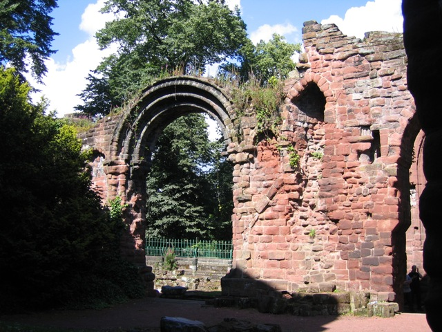 The Ruins of St Johns Church