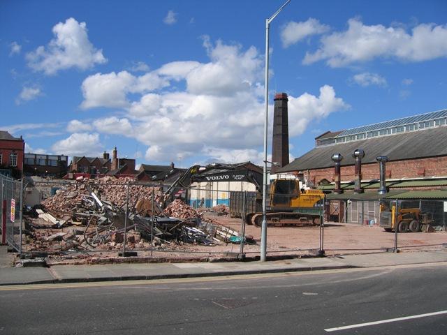 Demolition on Union Street #4