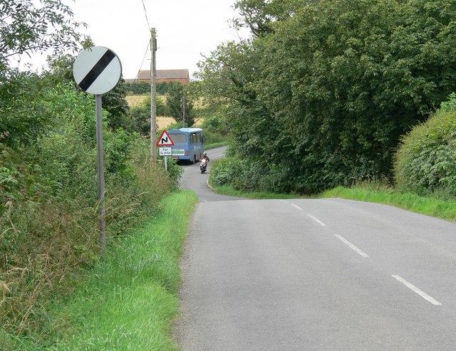 Barkby Road near Beeby