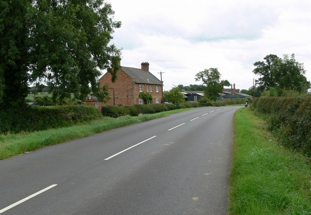 Beeby Road, near Barkby in Leicestershire