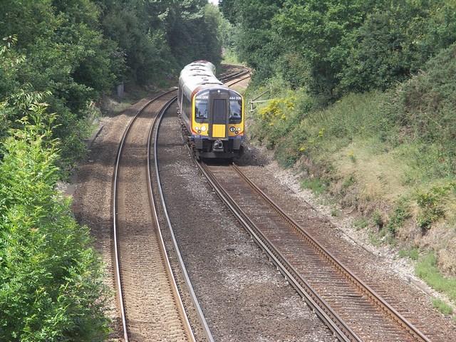 Railway Line at Walkford