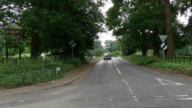 Thorpe Lane, Barkby