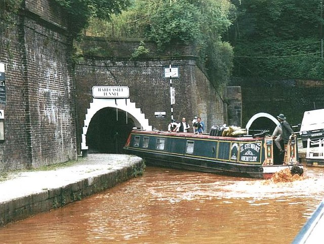 2002 : Harecastle Tunnels - North Entrances