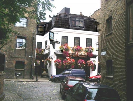 The Mayflower Pub on Rotherhithe Street. SE16