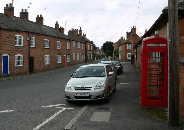 Another view of Main Street, Barkby