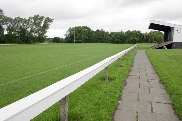 Leeds University Rugby Field, Weetwood.