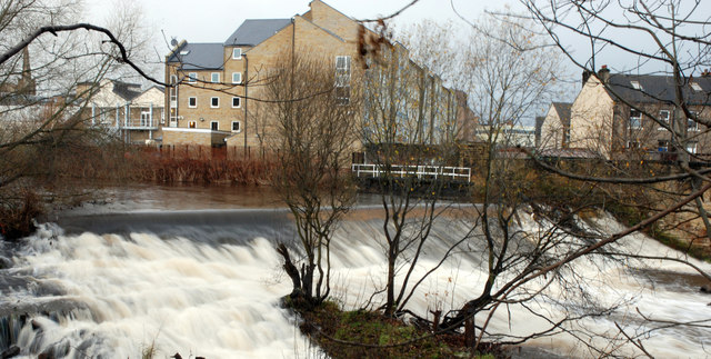 River Colne Weir