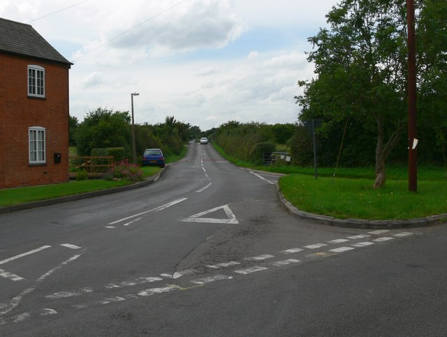 Barkby Thorpe Lane junction