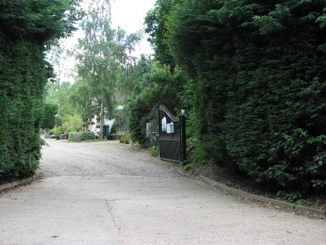 Entrance to Two Mills camping site