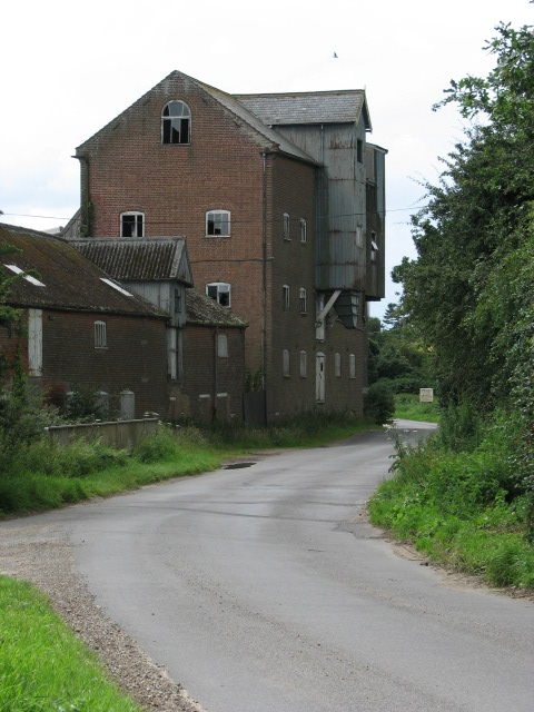 Ebridge Mill on Happisburgh Road, North Walsham