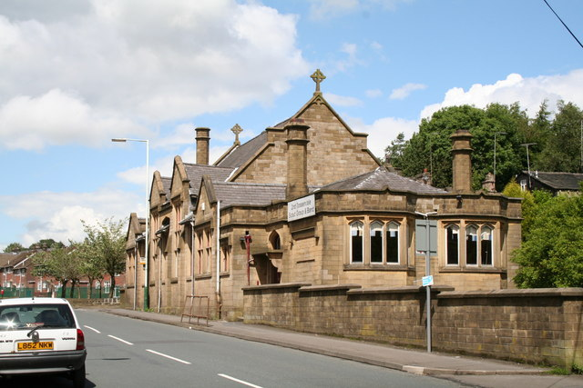Former Sunday School, Burnley Road, Bacup, Lancashire